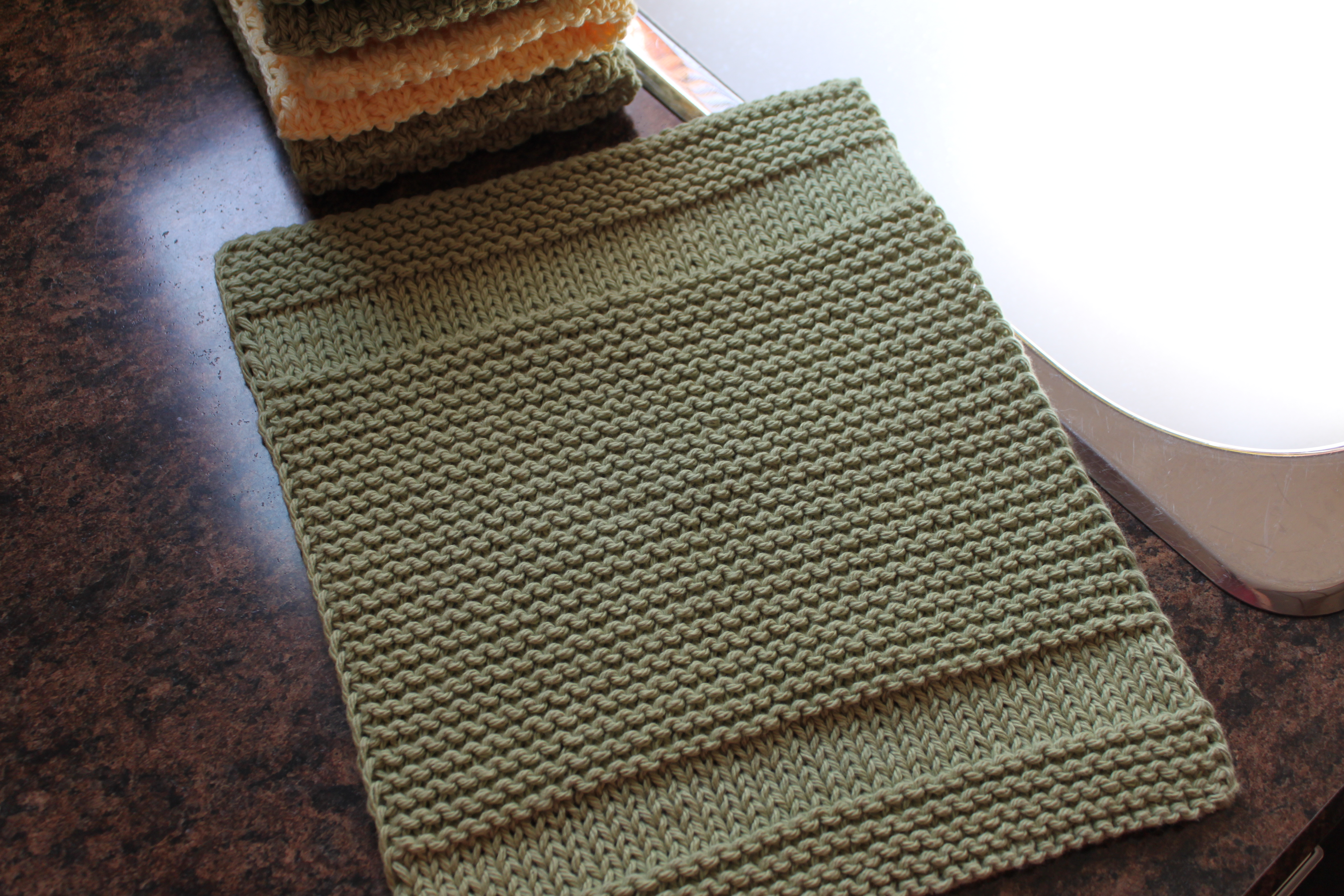 Outstanding Dish Towel Knitting Pattern Gift - Blanket Knitting ...