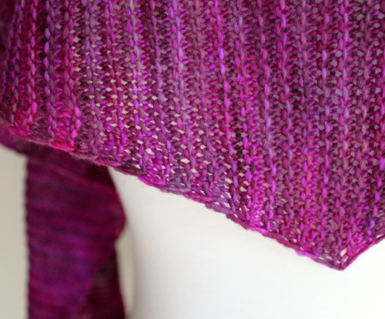 Totally Triangular Scarf closeup