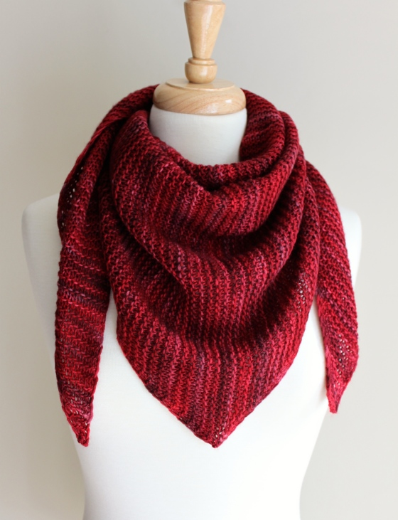 Truly Triangular Scarf