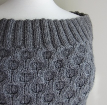 Fashion Forward Cowl Edge Detail