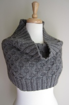 Fashion Forward Cowl as a capelet