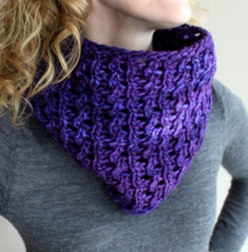Bulky Lace Cowl
